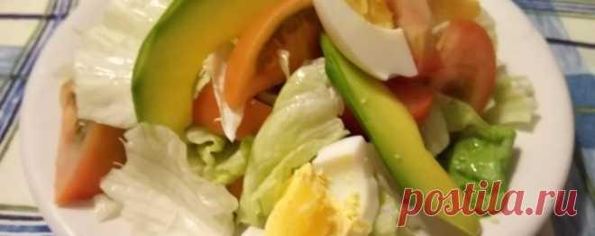 Салат с айсбергом - Диетический рецепт ПП с фото и видео - Калорийность БЖУ
