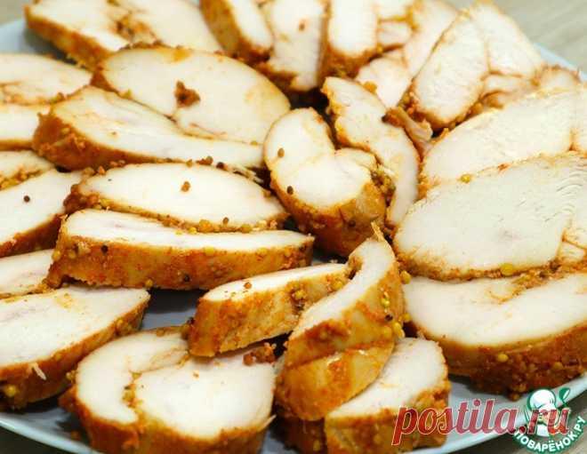 Домашняя пастрома из курицы в духовке – кулинарный рецепт