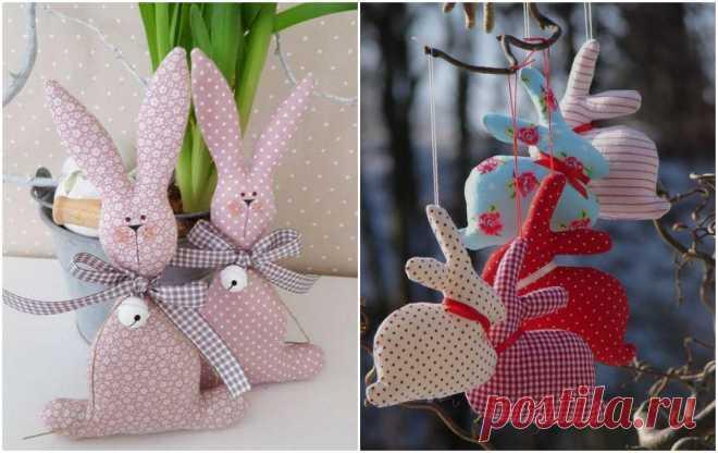 Кролики-подвески