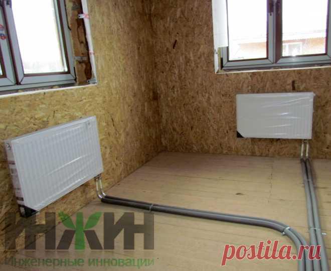 Монтаж отопления в доме из кирпича, фото 732