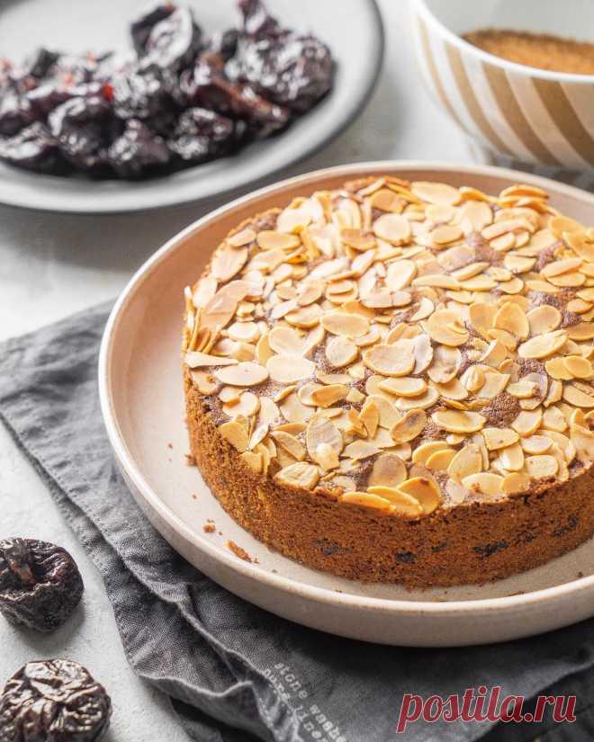 Миндальный пирог с черносливом | Andy Chef (Энди Шеф) — блог о еде и путешествиях, пошаговые рецепты, интернет-магазин для кондитеров |