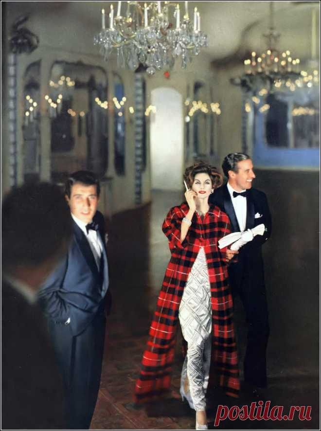 Anne St. Marie, photo by Henry Clarke, Vogue, September 1, 1958
