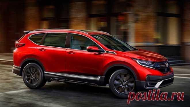 Обновленный кроссовер Honda CR-V для российского рынка