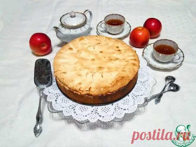 Рождественский пирог с творожно-яблочной начинкой Кулинарный рецепт
