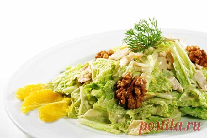 Салаты из пекинской капусты. 17 рецептов салатов с пекинкой | Волшебная Eда.ру