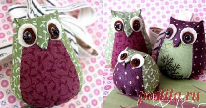 Креативная подушка - сова
