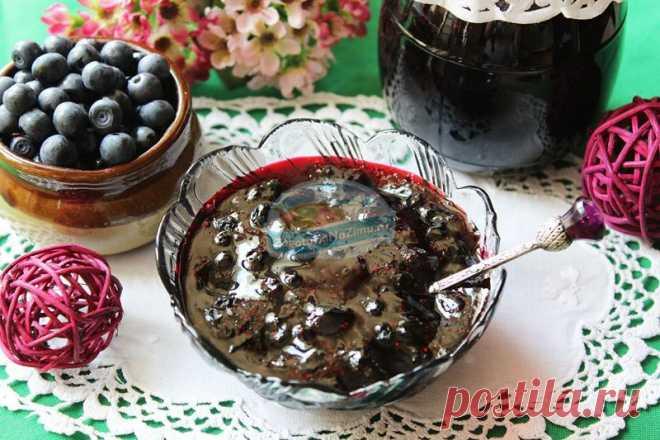 Варенье из черники форте пошаговый рецепт с картинками