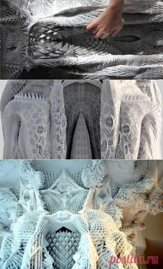 (+1) тема - Цифровая архитектура Michael Hansmeyer | Искусство