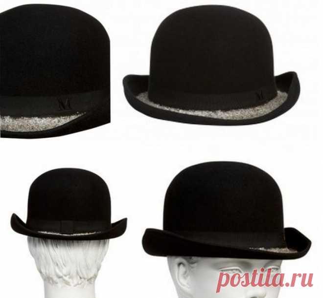 Шляпа с блестками Maison Michel / Головные уборы / ВТОРАЯ УЛИЦА