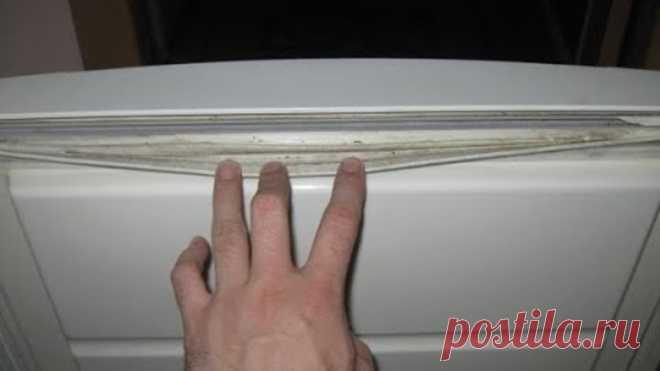 Реставрация уплотнительных резинок холодильника - все просто