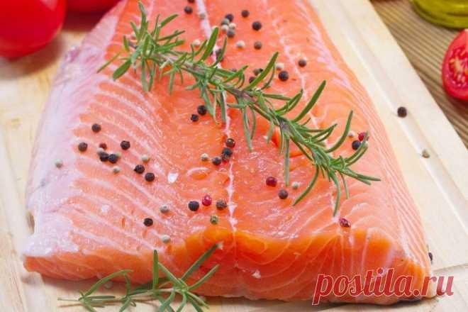 Соленая красная рыбка в домашних условиях