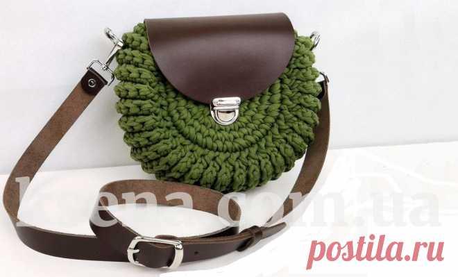 купить вязаную сумку, вязаная сумка, сумка крючком, купить сумку крючком, купить сумку ручной работы - Ksena