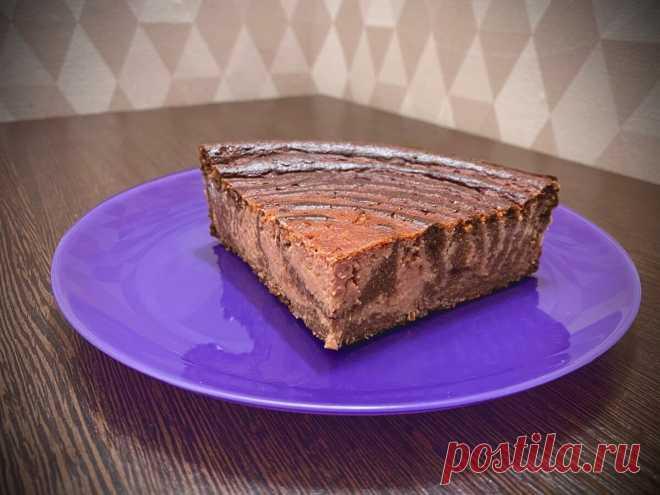 Вишнёво–шоколадная запеканка-«чизкейк» | ПП и ЗОЖ десерты как эксперимент | Яндекс Дзен