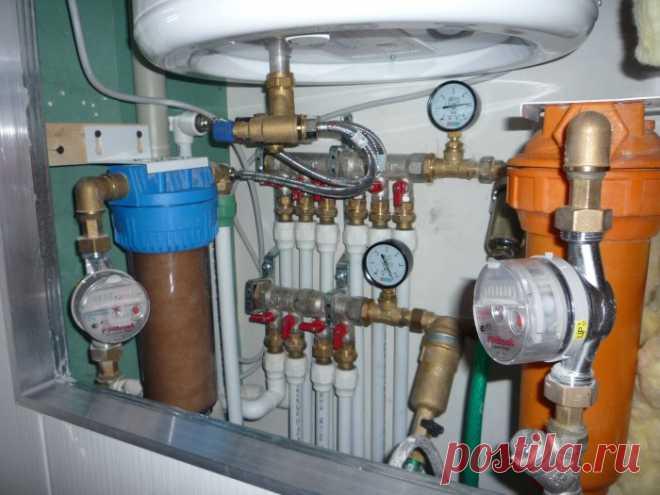 Как сделать водопроводную разводку своими руками и ничего не напутать