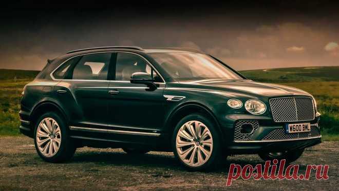Обновленный кроссовер Bentley Bentayga для России