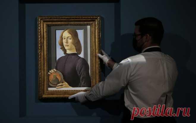 Картину Боттичелли продали за $92 миллиона | Журнал Esquire.ru