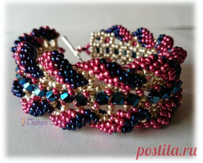 Trabajos Noelia con Abalorios | Mis pequeñas-grandes obras. | Beads, Bracelets and Beadwork