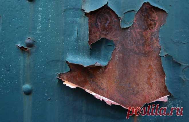 11 советов, как избавиться от ржавчины на металле в домашних условиях