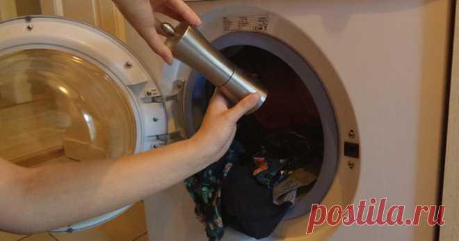 Добавь немного черного перца в стиральную машинку… Ты удивишься, что произойдет! - Советы домохозяйкам
