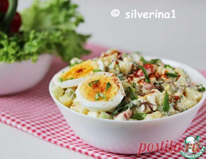 Американский картофельный салат – кулинарный рецепт