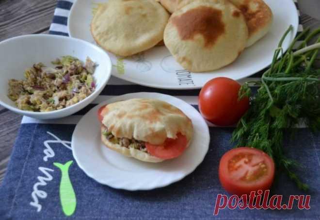 Home-made pita