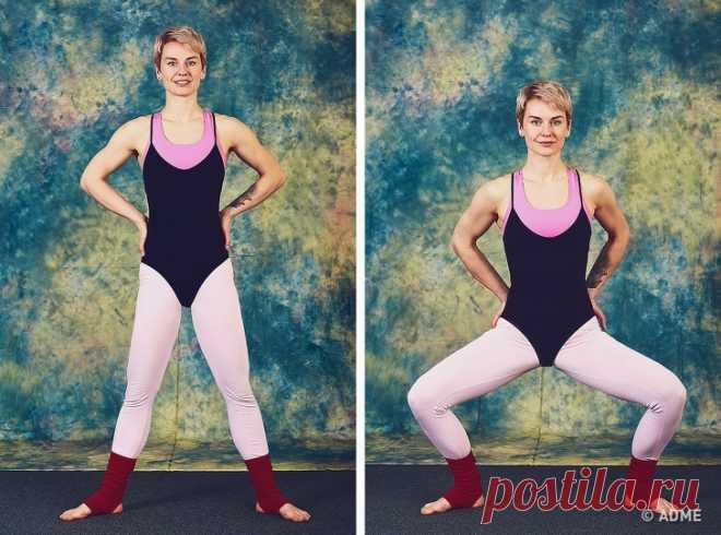 9упражнений отСинди Кроуфорд, которые преобразят ваше тело за10минут вдень
