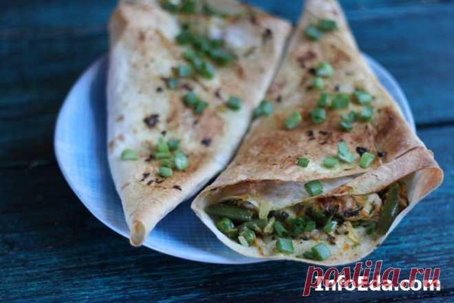 Лаваш с овощами и курицей (рецепт с фото) | InfoEda.com