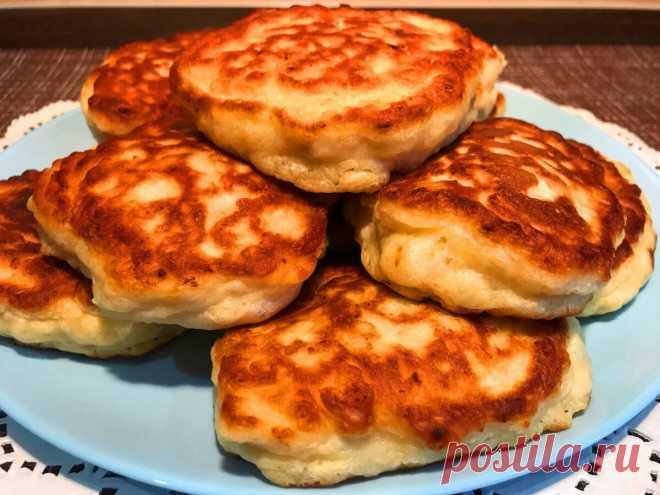 Мясные оладьи с фаршем или ленивые пирожки - ну очень вкусно, сытно и быстро