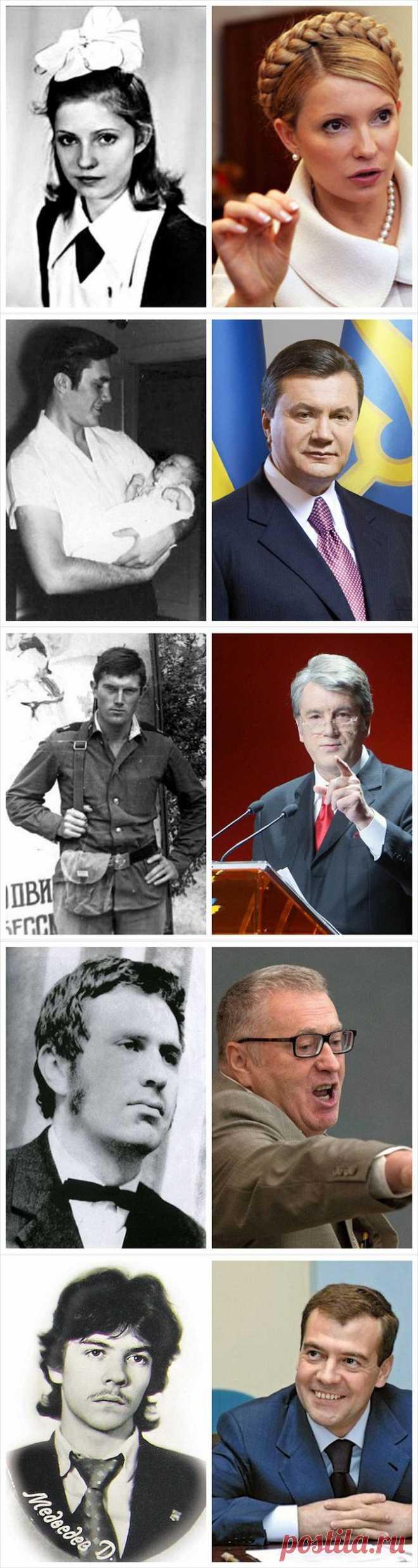 Какими были политики в молодости / Всё самое лучшее из интернета
