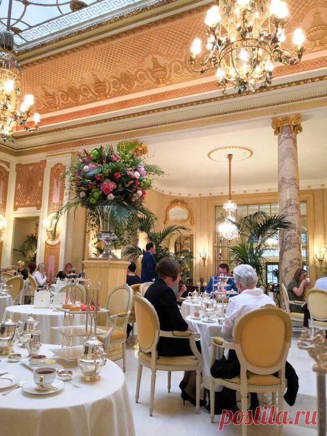 Сколько стоит попить чаю в отеле Ритц и что входит в эту цену | Ольга Любимцева | Яндекс Дзен