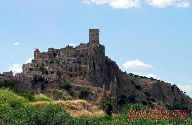 Како (Италия) - красивейшее заброшенное место