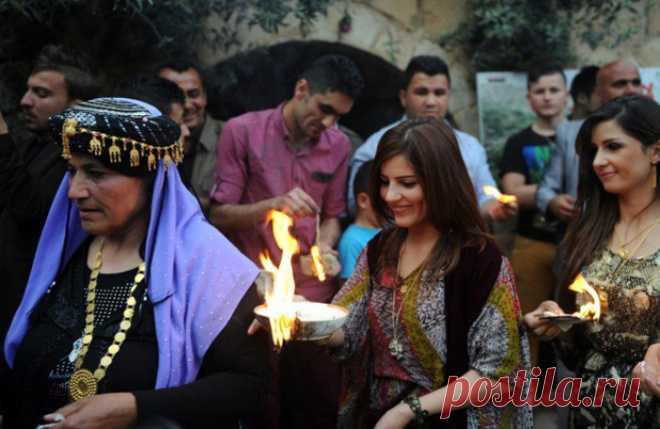 Езиды: солнцепоклонники, которые отмечают Новый Год весной . Чёрт побери