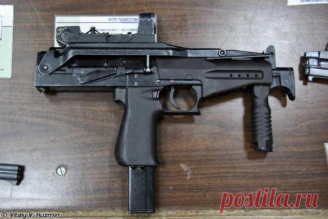 Русский пистолет-пулемёт ПП СР-2 «Вереск» . Чёрт побери
