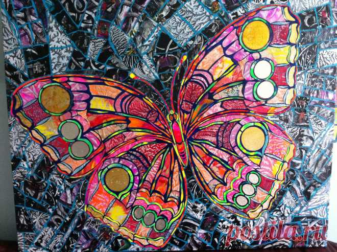 Mosaic Butterfly (Page 1) - Line.17QQ.com