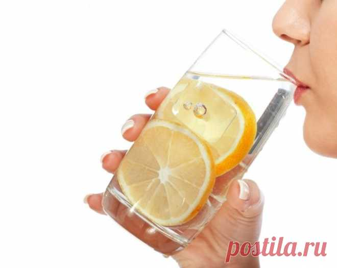 Вода с лимоном для похудения натощак польза и вред для организма