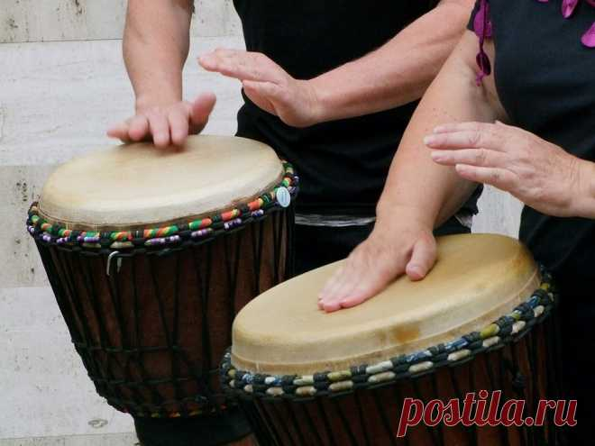 As playing drums improves mental and physical health