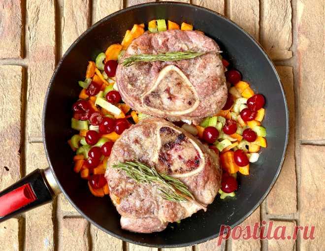 Один из самых удачных рецептов для говядины. Готовим «Дырявую кость»   КАФЕ-ШАФРАН   Яндекс Дзен