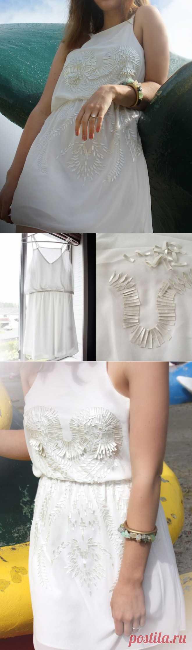 Необычный декор нарядного платья (DiY) / Декор / Модный сайт о стильной переделке одежды и интерьера