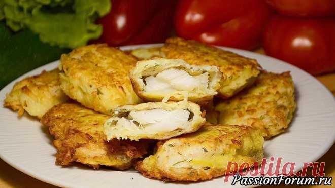 Ну, оОчень вкусная рыба в картофельной стружке! - запись пользователя lyupopova в сообществе Болталка в категории Кулинария Рыбное филе в картофельной стружке – основное блюдо и гарнир в одном! Готовится просто и быстро. Данный рецепт ещё хорош тем, что все полезные вещества, находящиеся в рыбе, остаются внутри, рыба получается сочной и вкусной.