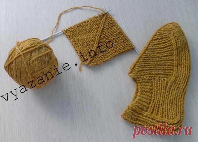 Высокие удобные следки для мужчин и женщин, связанные без шва на 2 спицах. | Vyazanie.info | Яндекс Дзен