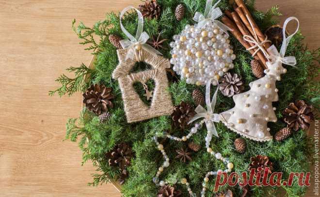 Создаем оригинальные новогодние ёлочные игрушки - Ярмарка Мастеров - ручная работа, handmade
