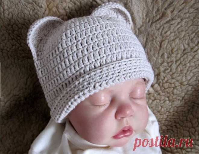 Начинающие вяжем крючком новорожденным. Как связать для новорожденного крючком схема, пинетки, шапочки, плед, конверт, чепчик, штанишки, люлька.. Вяжем новорожденному самостоятельно