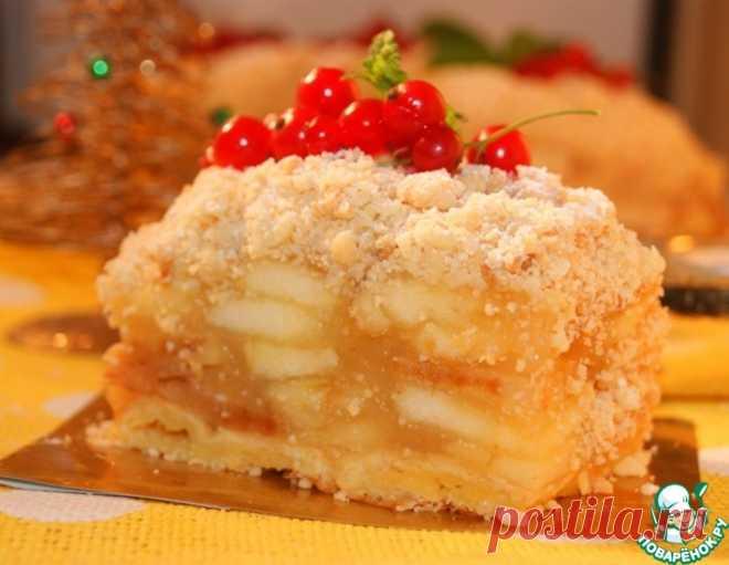Венский яблочный пирог по рецепту К. Шумахера.