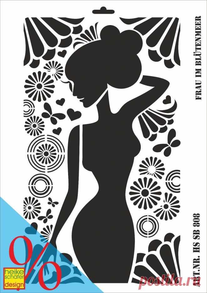 Schablone - A3 - Art.Nr. 208-0808 Frau im Blütenmeer - Neu - Heike Schäfer • EUR 3,49 SCHABLONE - A3 - Art.Nr. 208-0808 Frau im Blütenmeer - Neu - Heike Schäfer - EUR 3,49. Schablone - A3 - Art.Nr. 208-0808 Frau im Blütenmeer - Neu - Heike Schäfer Design Material: Kunststoff (Farbe Creme-Weiß) Größe: A3 - ca. 290x420mm Artikelzustand: Neu, unbenutzt Bei einer Bestellung von mehreren Artikeln werden nur 1x Versandkosten berechnet. Bitte die Kombirechnung abwarten! 253670179915