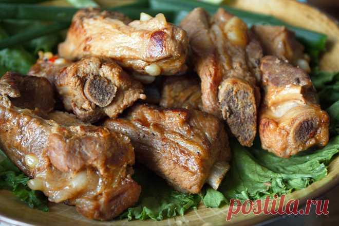 Мой лучший рецепт дешевых свиных ребрышек | Домашняя кухня | Яндекс Дзен