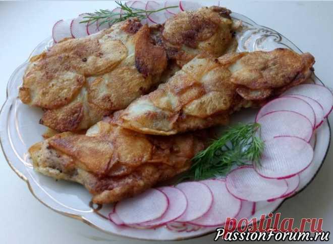 Волшебная курочка в картофельной шубке - запись пользователя Ликуся (Ликуся) в сообществе Болталка в категории Кулинария