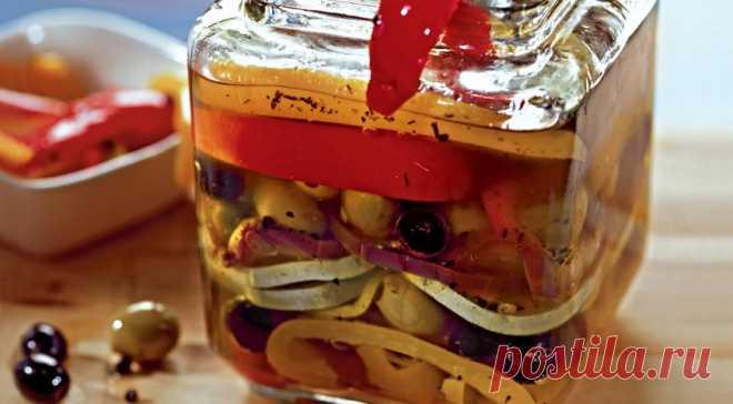 Салат Маринованные овощи по-итальянски, пошаговый рецепт с фото