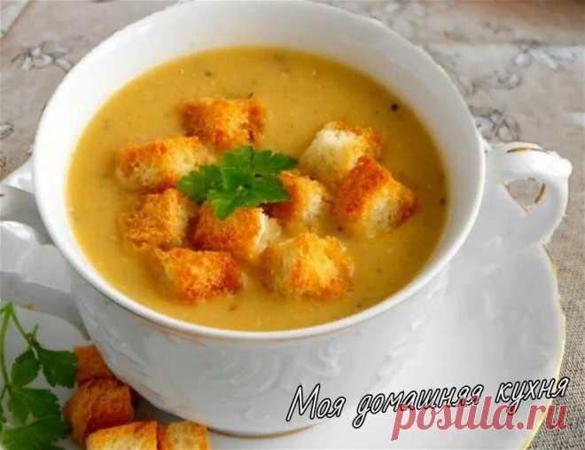 деревенский турецкий суп по рецепту Яны Поплавской