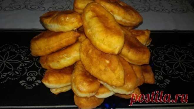 Жареные пирожки с картошкой! Быстро, просто и вкусно!!