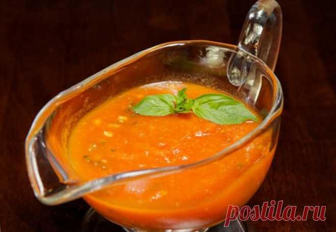 Томатный соус с базиликом   Блоги о даче и огороде, рецептах, красоте и правильном питании, рыбалке, ремонте и интерьере